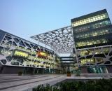 Der chinesicher Onlinehändler Alibaba, hier das Büro in , kooperiert mit der Axa