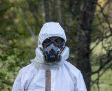 Schutzanzug Asbest