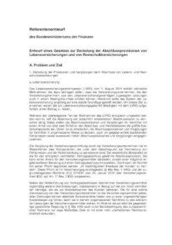 Referenzentwurf Provisionsdeckel