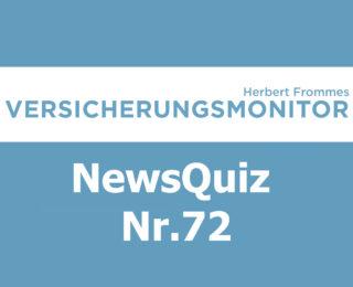 VM NewsQuiz Nr.72 Insurance Quiz