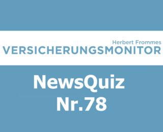 VM NewsQuiz Nr.78 Insurance Quiz
