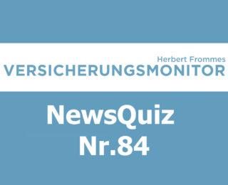 VM NewsQuiz Nr.84 Insurance Quiz