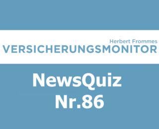 VM NewsQuiz Nr.85 Insurance Quiz