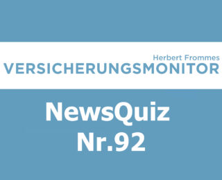 VM NewsQuiz Nr.92 Insurance Quiz