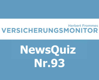 VM NewsQuiz Nr.93 Insurance Quiz