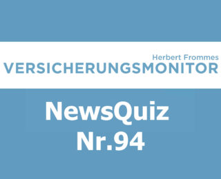 VM NewsQuiz Nr.94 Insurance Quiz
