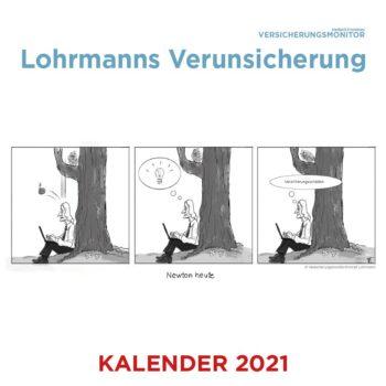 Versicherungsmonitor Lohrmann Cartoon Kalender 2021