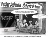 cartoon_lohrmann_Fahrschule_premium