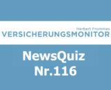 Versicherungsmonitor VMNewsQuiz Versicherungsquiz 116