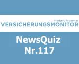 Versicherungsmonitor VMNewsQuiz Versicherungsquiz 117