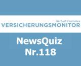 Versicherungsmonitor VMNewsQuiz Versicherungsquiz 118
