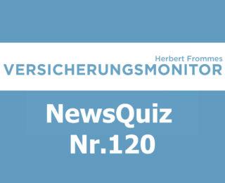 Versicherungsmonitor VMNewsQuiz Versicherungsquiz 120