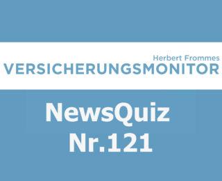 Versicherungsmonitor VMNewsQuiz Versicherungsquiz 121