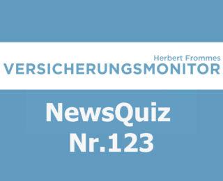 Versicherungsmonitor VMNewsQuiz Versicherungsquiz 123