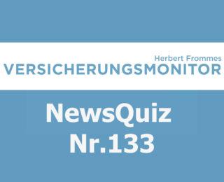 Versicherungsmonitor VMNewsQuiz Versicherungsquiz 133