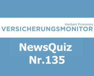 Versicherungsmonitor VMNewsQuiz Versicherungsquiz 135