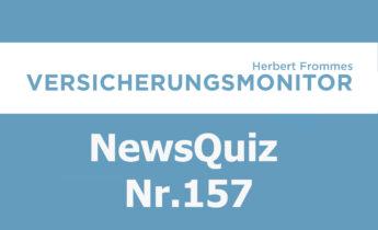 Versicherungsmonitor VMNewsQuiz Versicherungsquiz 157